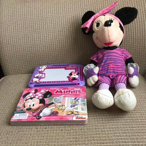 Disney Minnie Mouse Storybook Magnetic Board